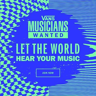 2020 Vans Musicians Wanted
