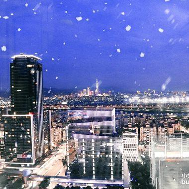 台北下起了雪